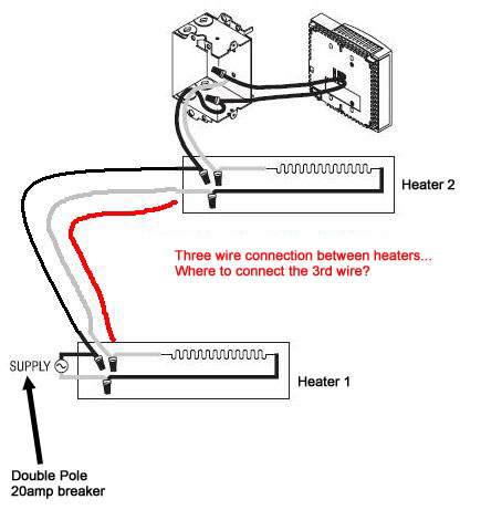 Fahrenheat Electric Baseboard Heater Wiring Diagram - Wiring Diagram