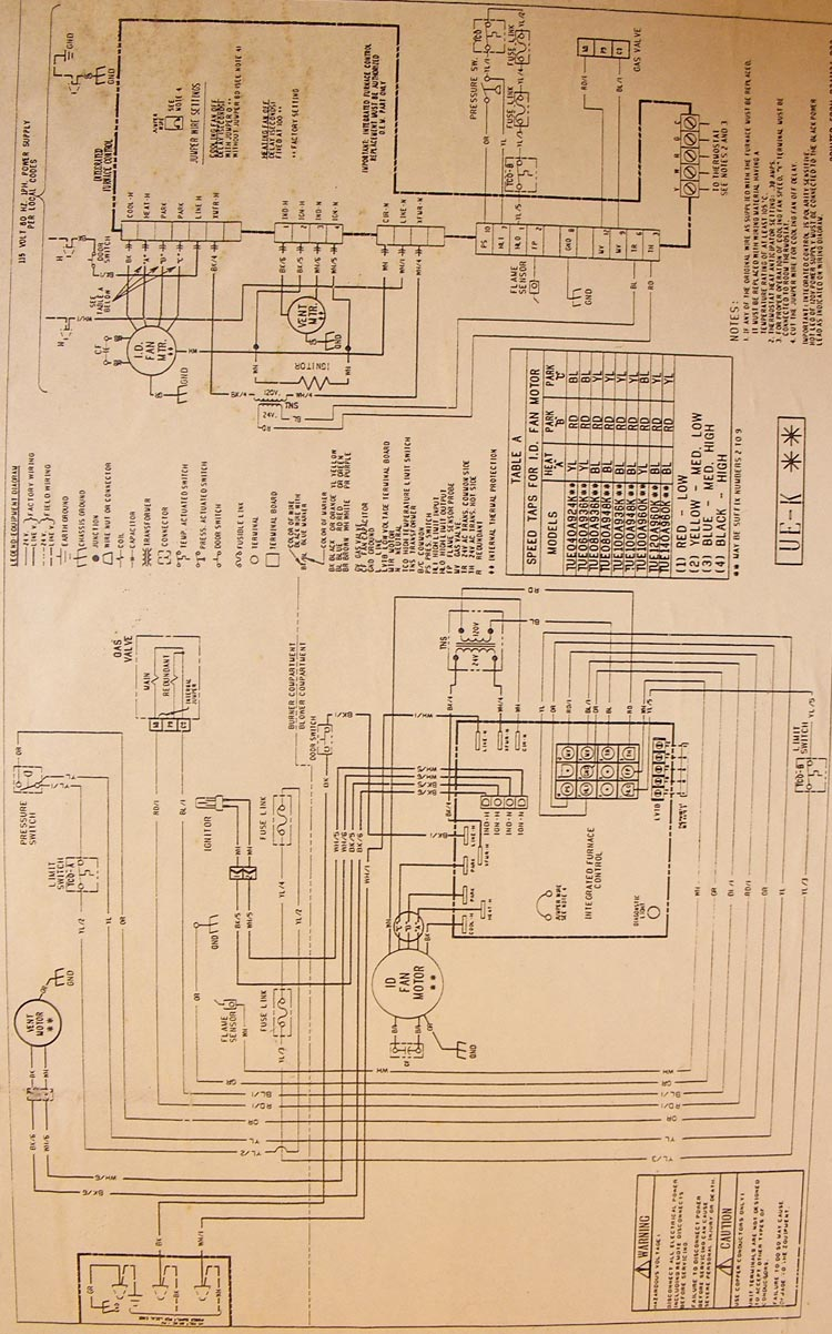 trane xe1000 wiring diagram   27 wiring diagram images