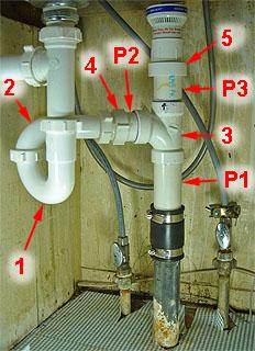 Wet venting