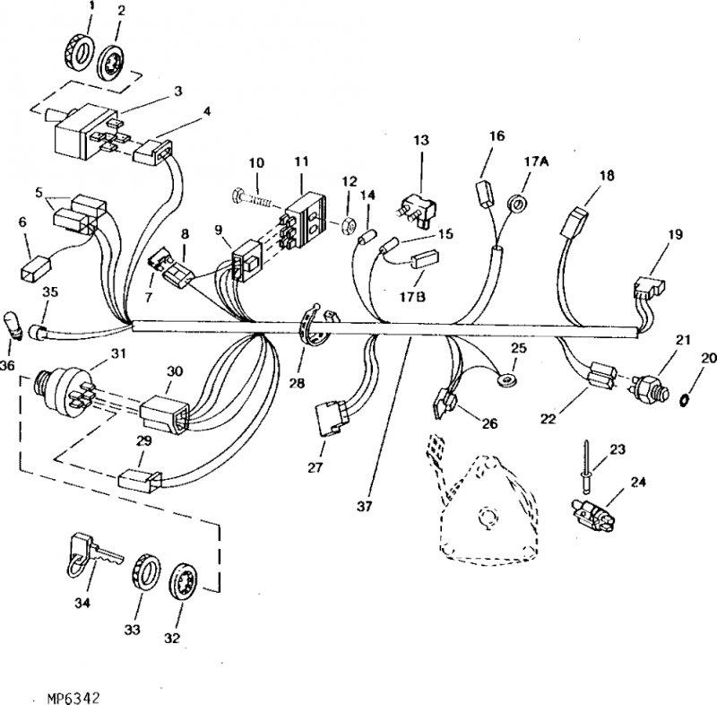 john deere f620 wiring diagram   30 wiring diagram images