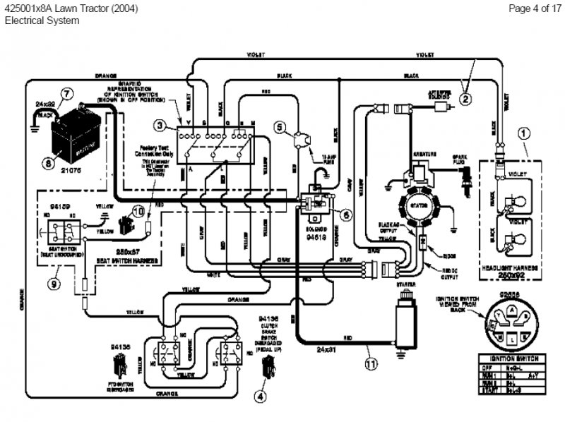 Diagram Indak Ignition Switch Wiring Diagram Riding Mower Diagram