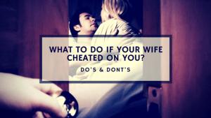 wife cheated
