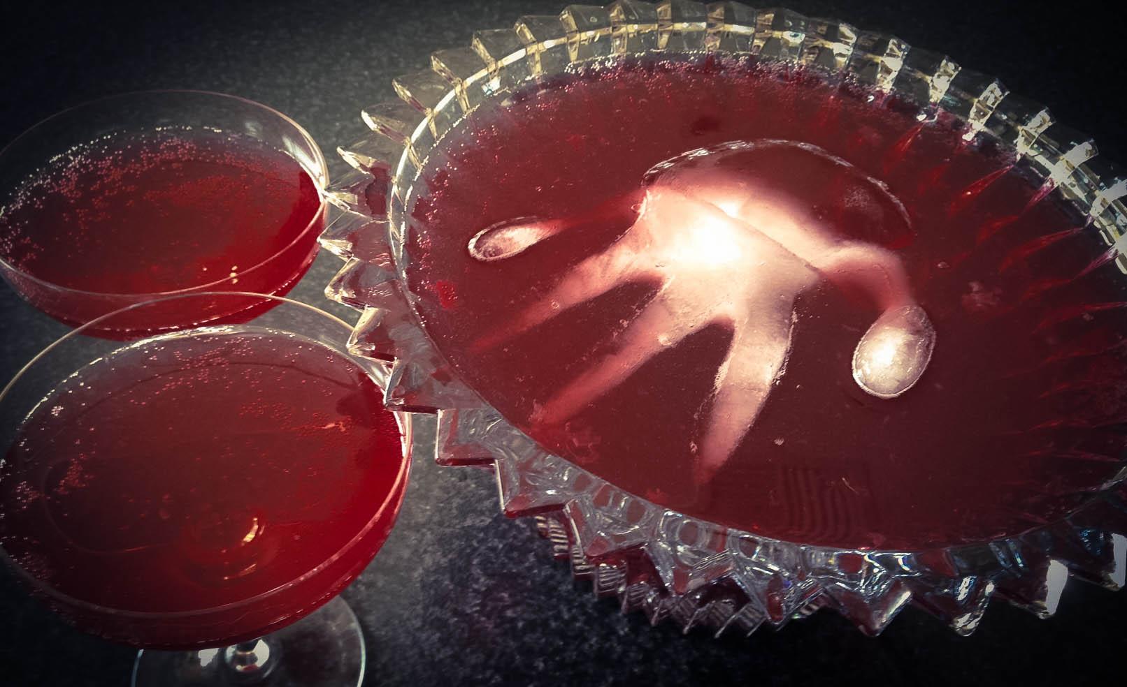 Recipe: Redrum Raspberry Punch {Halloween}