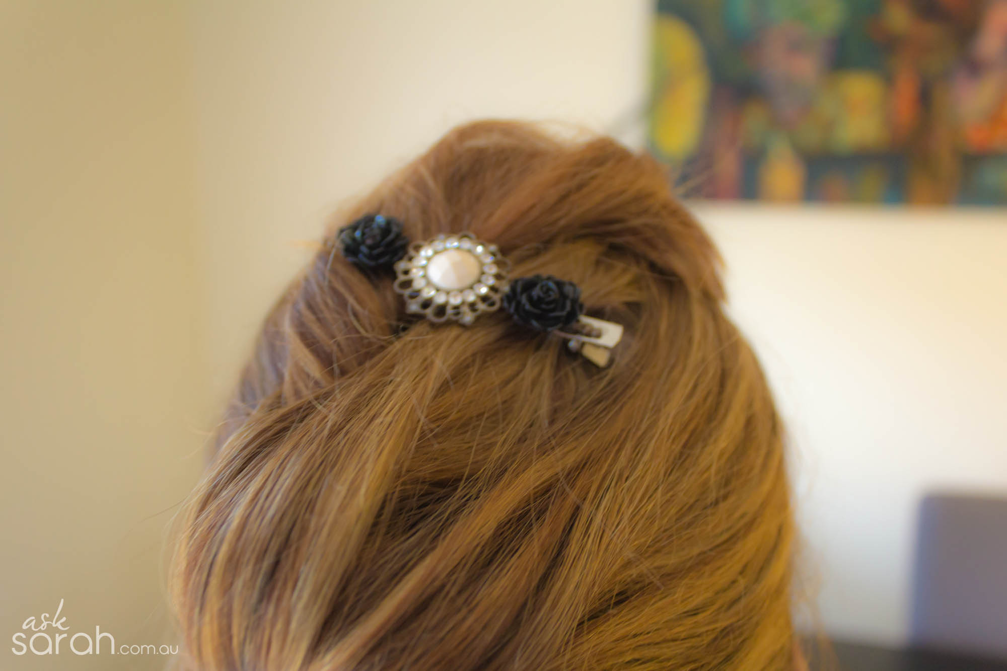 DIY Vintage Inspired Hairpins
