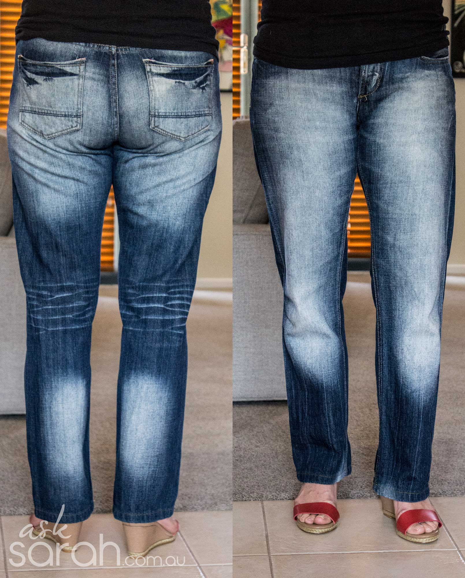 The Woman of Many Jeans & How To Make Buying Them Easier
