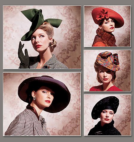Hats Ahoy! Vogue 7464