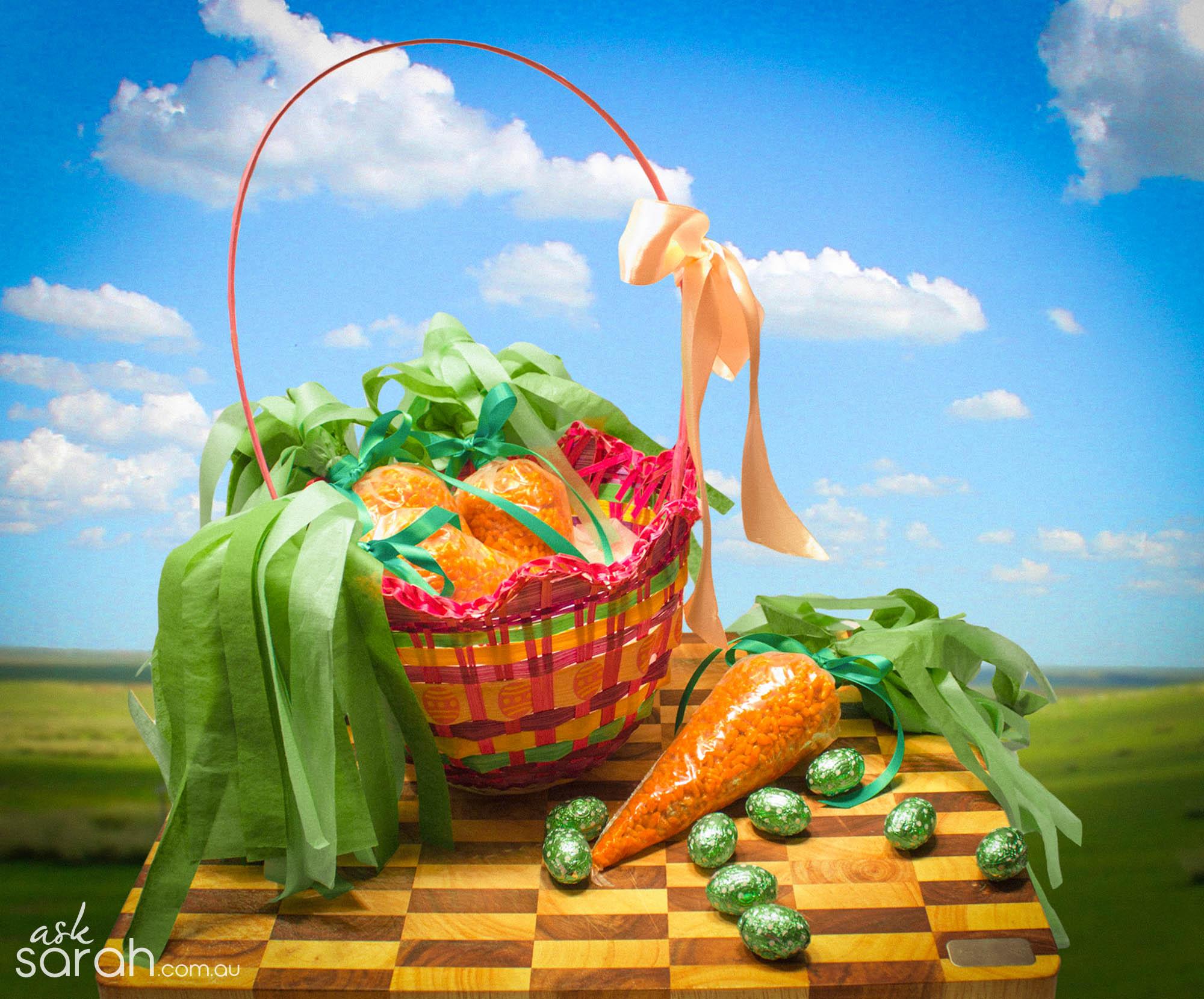 Recipe: Easter Bunny Bites {Rice Krispie Treat Carrots}