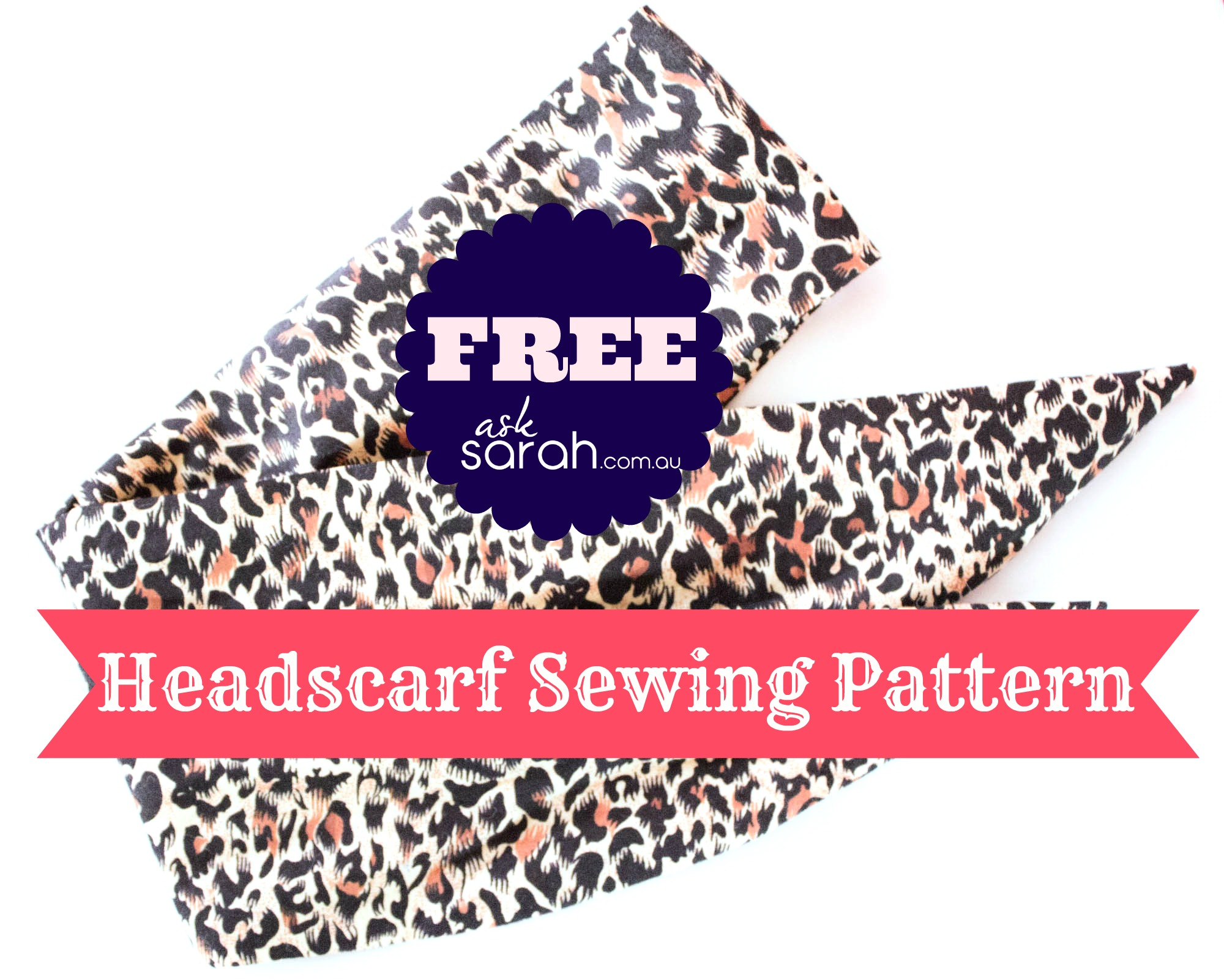 Sew: Fringe Wrap Up & FREE Headscarf Pattern