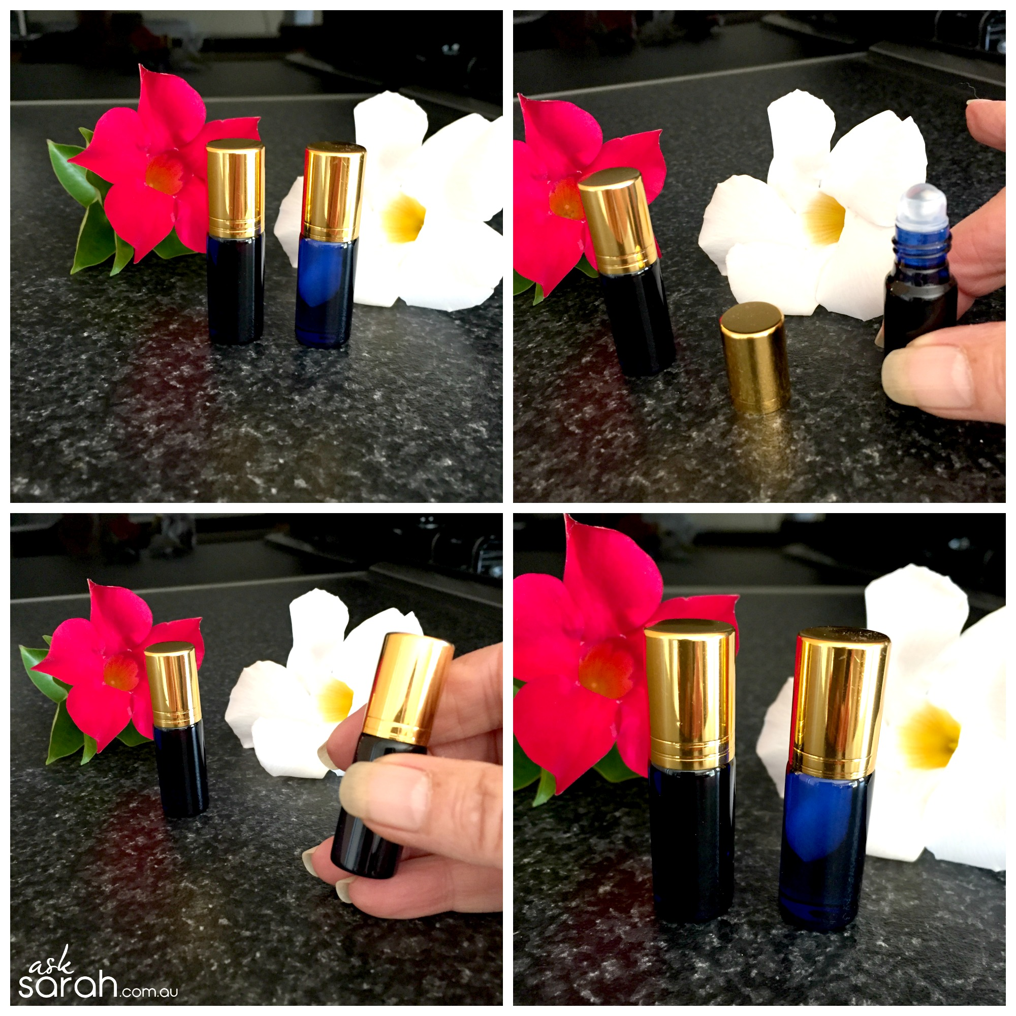 Make: DIY Essential Oil Rollerball {Pulse Point Perfume}