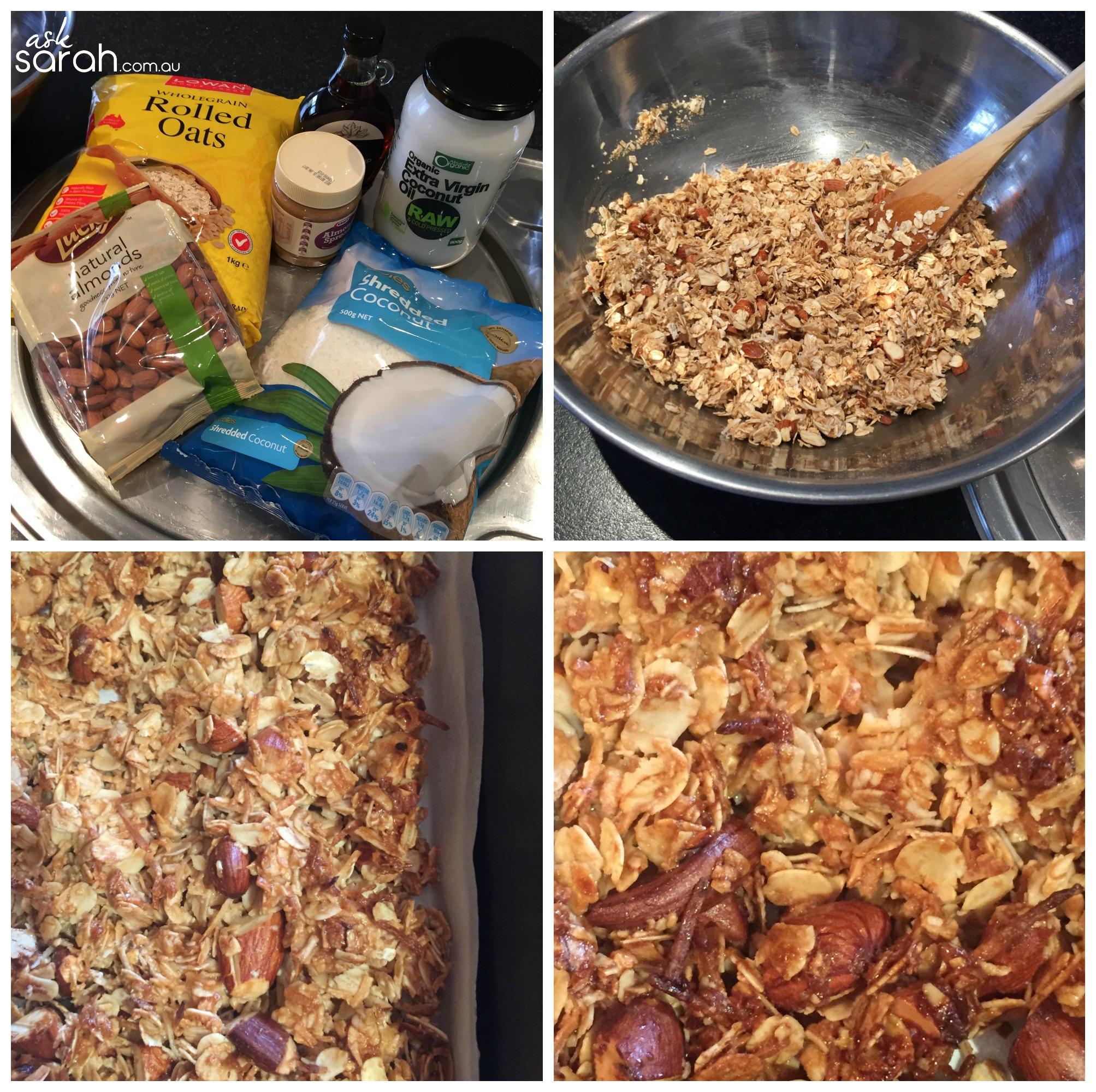 Recipe: Almond & Coconut Granola {Vegan & Gluten Free}