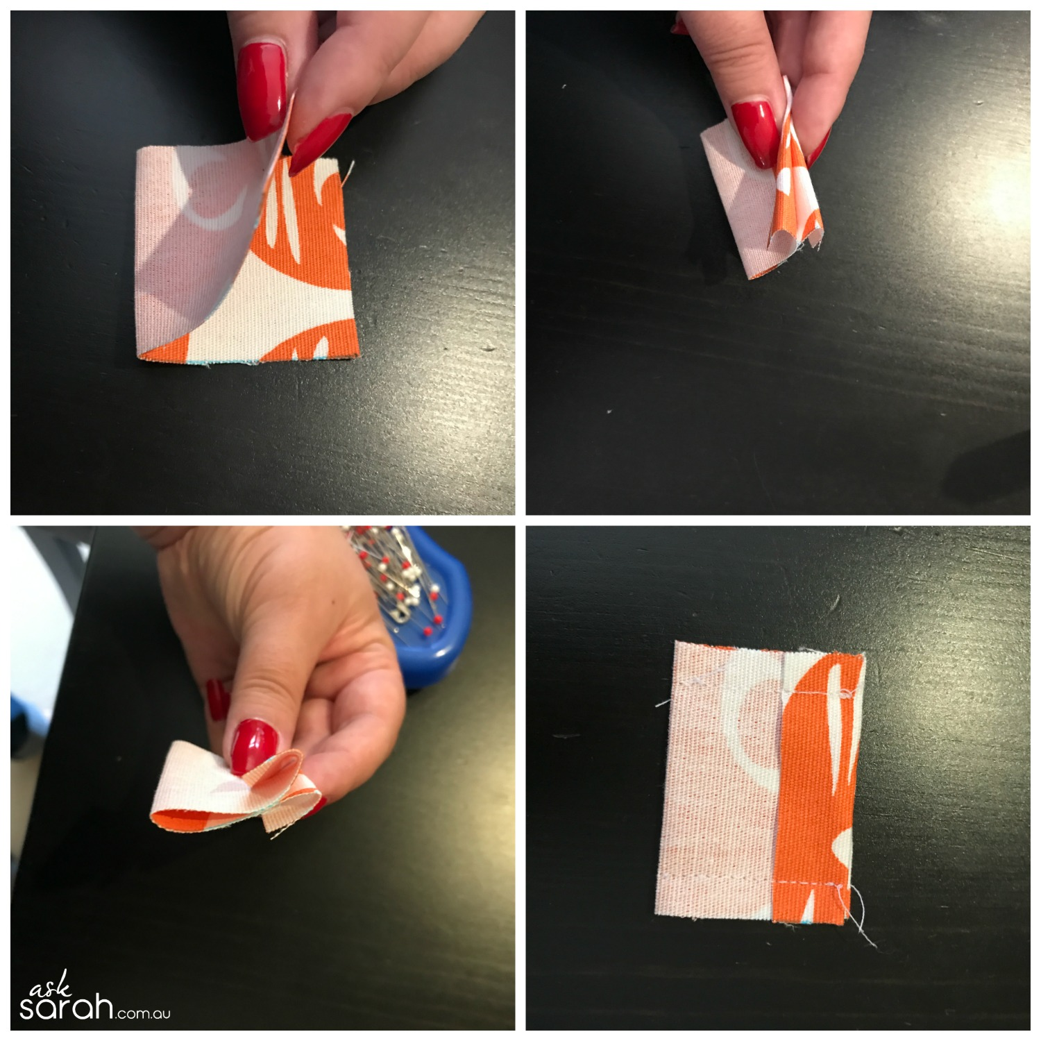 Sew How To Add A Tab To A Zipper {And How Shorten It Too} - Step 1