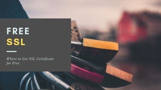 Free SSL certificate providers