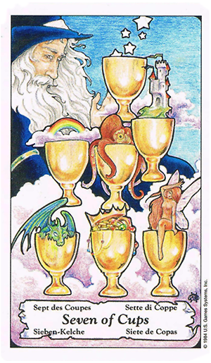 Seven of Cups