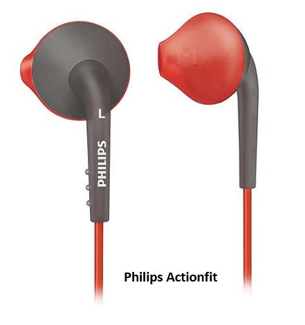 Philips Actionfit earphones