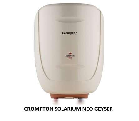 Crompton Solarium Neo geyser