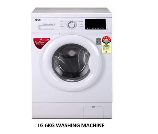 LG 6KG WASHING MACHINE