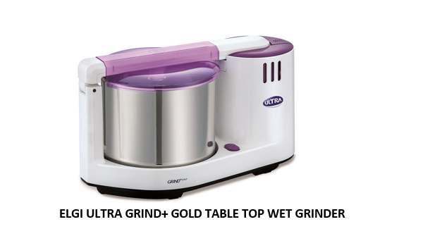 ELGI ULTRA GRIND+ GOLD TABLE TOP WET GRINDER