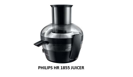 PHILIPS HR 1855 JUICER