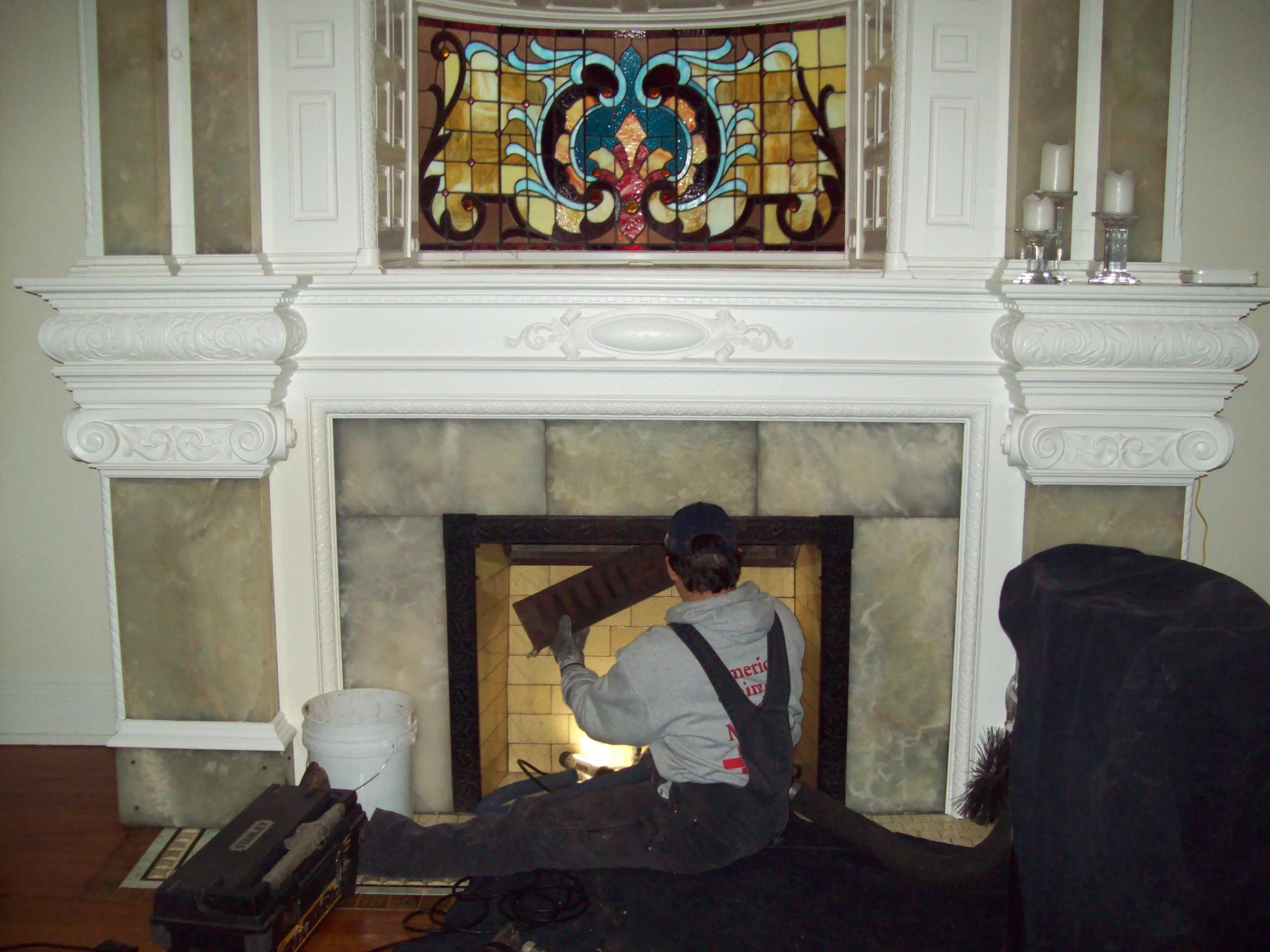 How To Replace A Fireplace Damper
