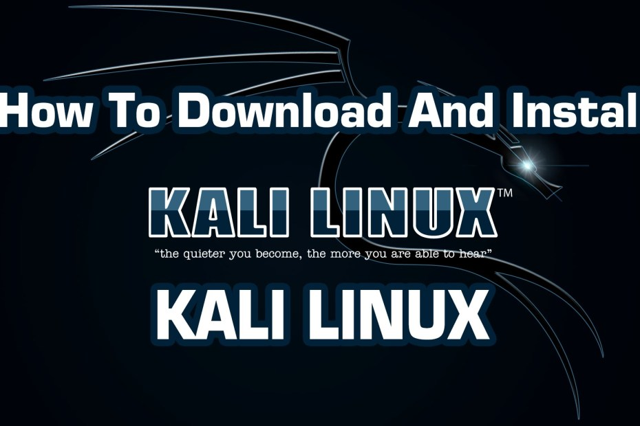 download ad install kali latest verson
