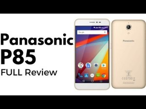 panasonic p85 specification