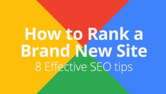 rank website of google fast