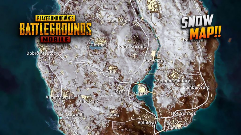 PUBG Mobile Vikendi Snow Map Release Date Minimap Amp Highlights Yours Faithfully Virus