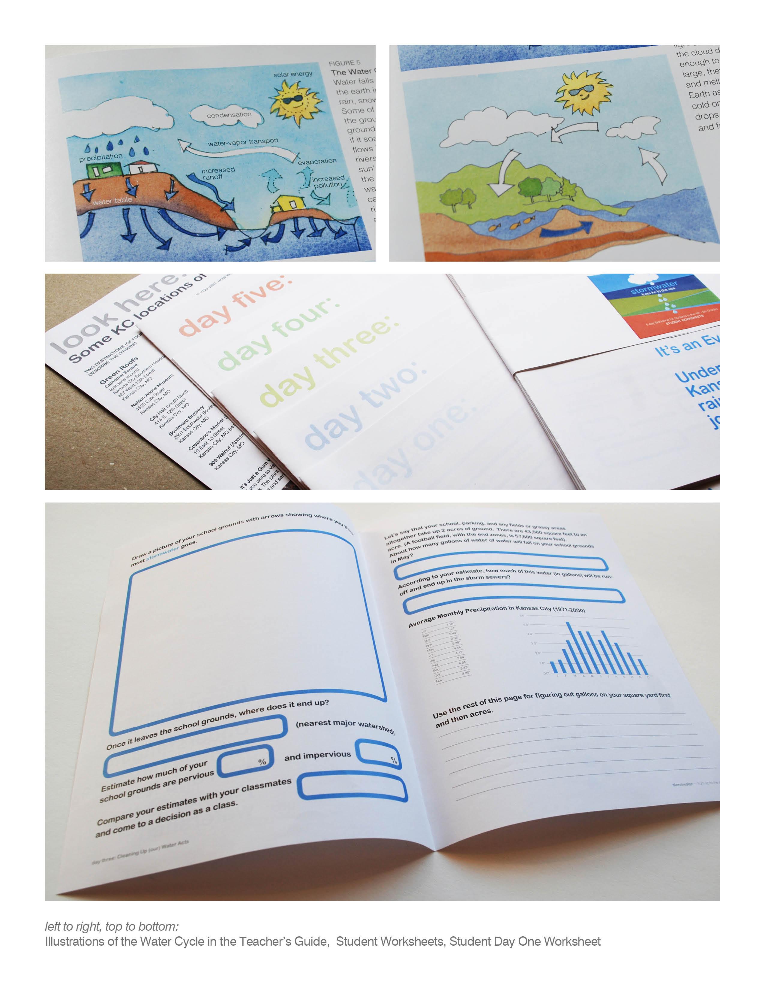 Water Cycle Worksheet Grade 4