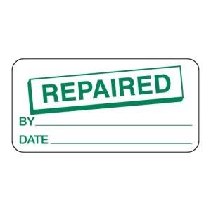 Repaired Label
