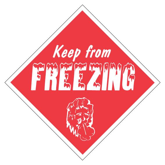 Keep From Freezing Diamond Label
