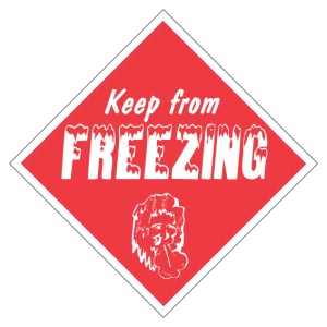 Keep From Freezing Diamond Label