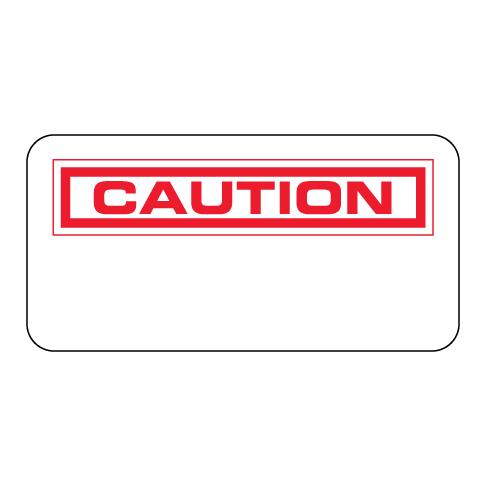Caution Label