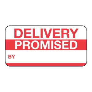 Delivery Promised Label