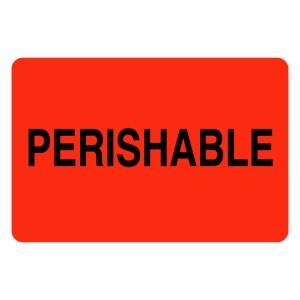 Perishable Label