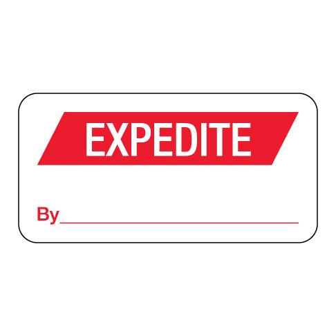 Expedite Label