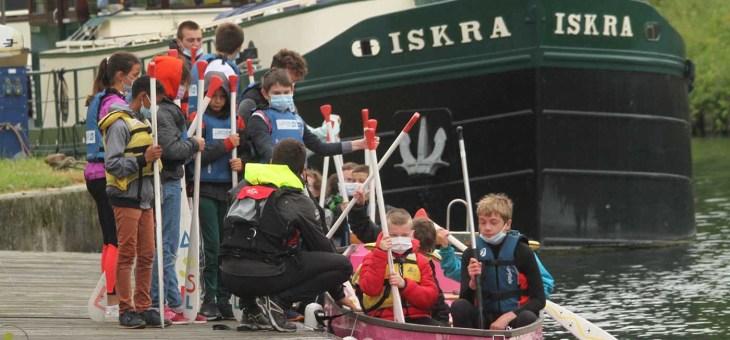 La Journée olympique, prétexte à une rencontre entre écoliers et collégiens