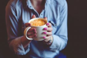 Not Writing with coffee | Marianne H. Donley | A Slice of Orange