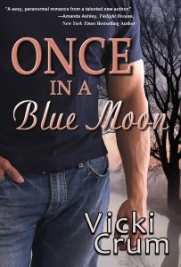 Cover for Vicki Crum's Once in a Blue Moon