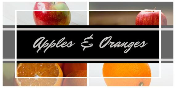 Apples & Oranges | Marianne H. Donley | A Slice of Orange