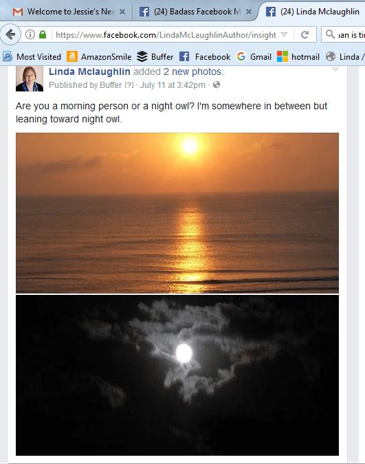 Linda Mac Facebook post