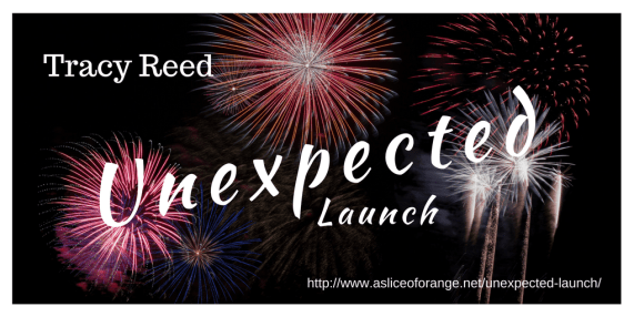 Unexpected Launch | Tracy Reed | A Slice of Orange