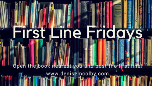 Ther First Line Fridays | Denise M. Colby | A Slice of Orange