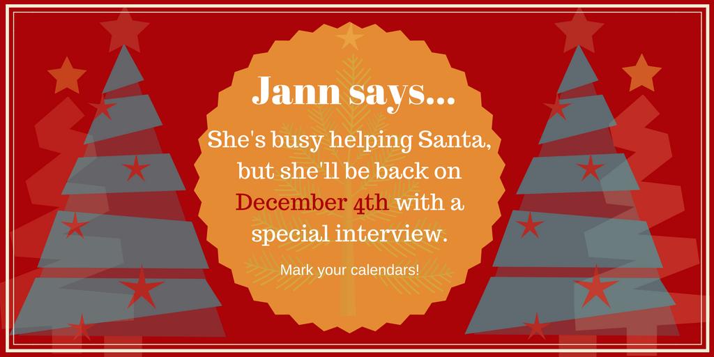 Helping Santa | Jann Ryan | A Slice of Orange