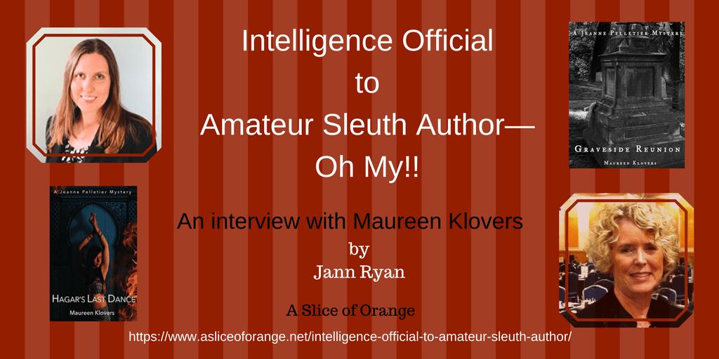 Maureen Klovers   Jann Says...  A Slice of Orange