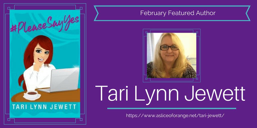 Tari Jewett   Featured Author of the Month   A Slice of Orange