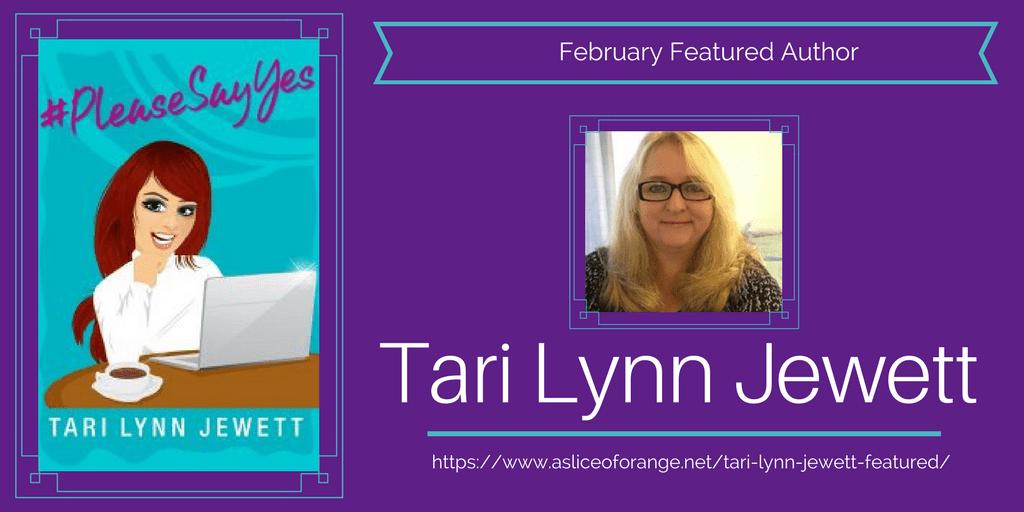 Tari Lynn Jewett Featured | A Slice of Orange