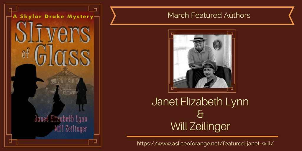 Featured Janet and Will | Featured Author of the Month | A Slice of Orange