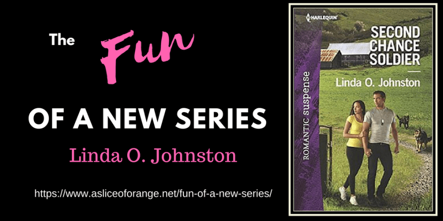 The Fun of a New Series | Linda O. Johnston | A Slice of Orange