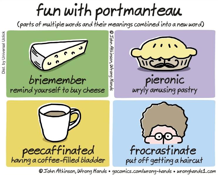 Portmanteau | Jenny Jensen | A Slice of Orange