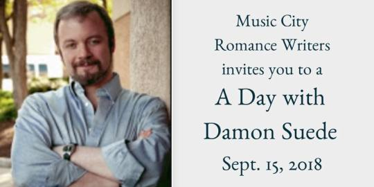 A Day with Damon Suede   Music City Romance Writers   A Slice of Orange